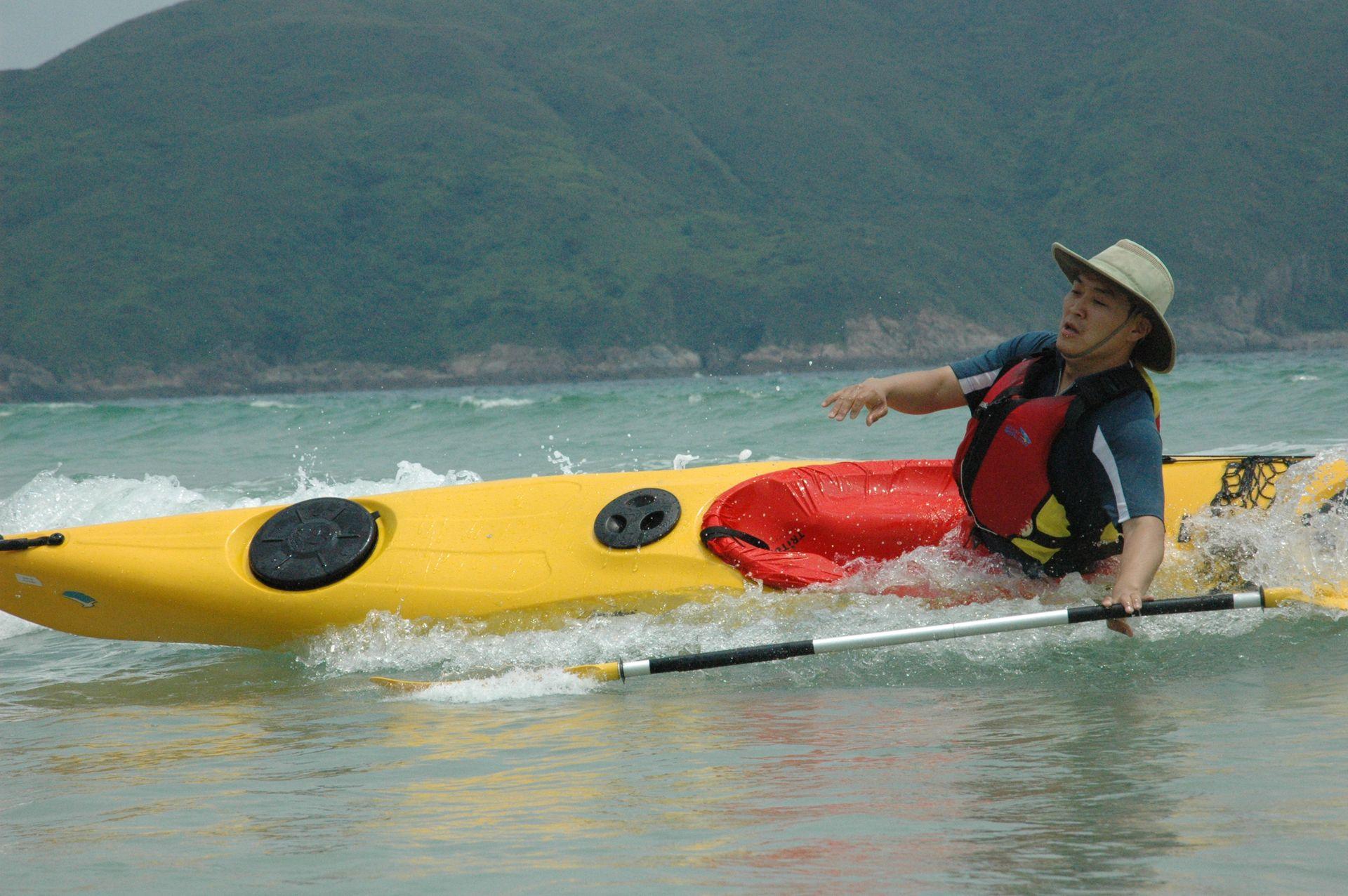 sea kayak rescue course