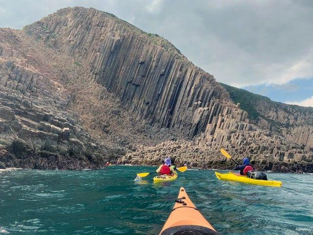 sea columns UNESCO Global Geopark Hong Kong