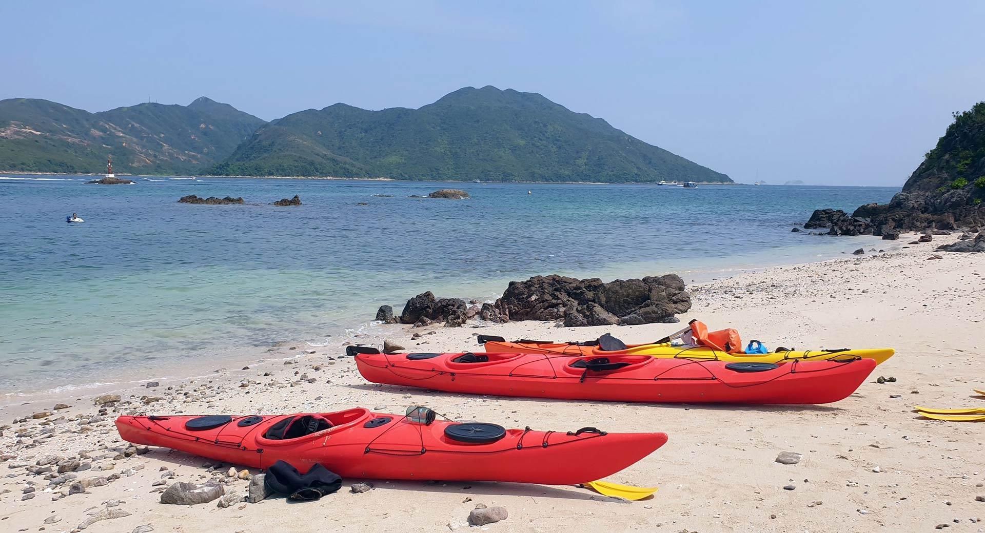 coral beach sea kayak hong kong