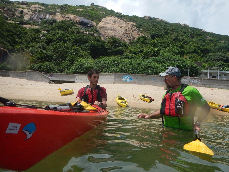 Sea kayak Fundamentals Course