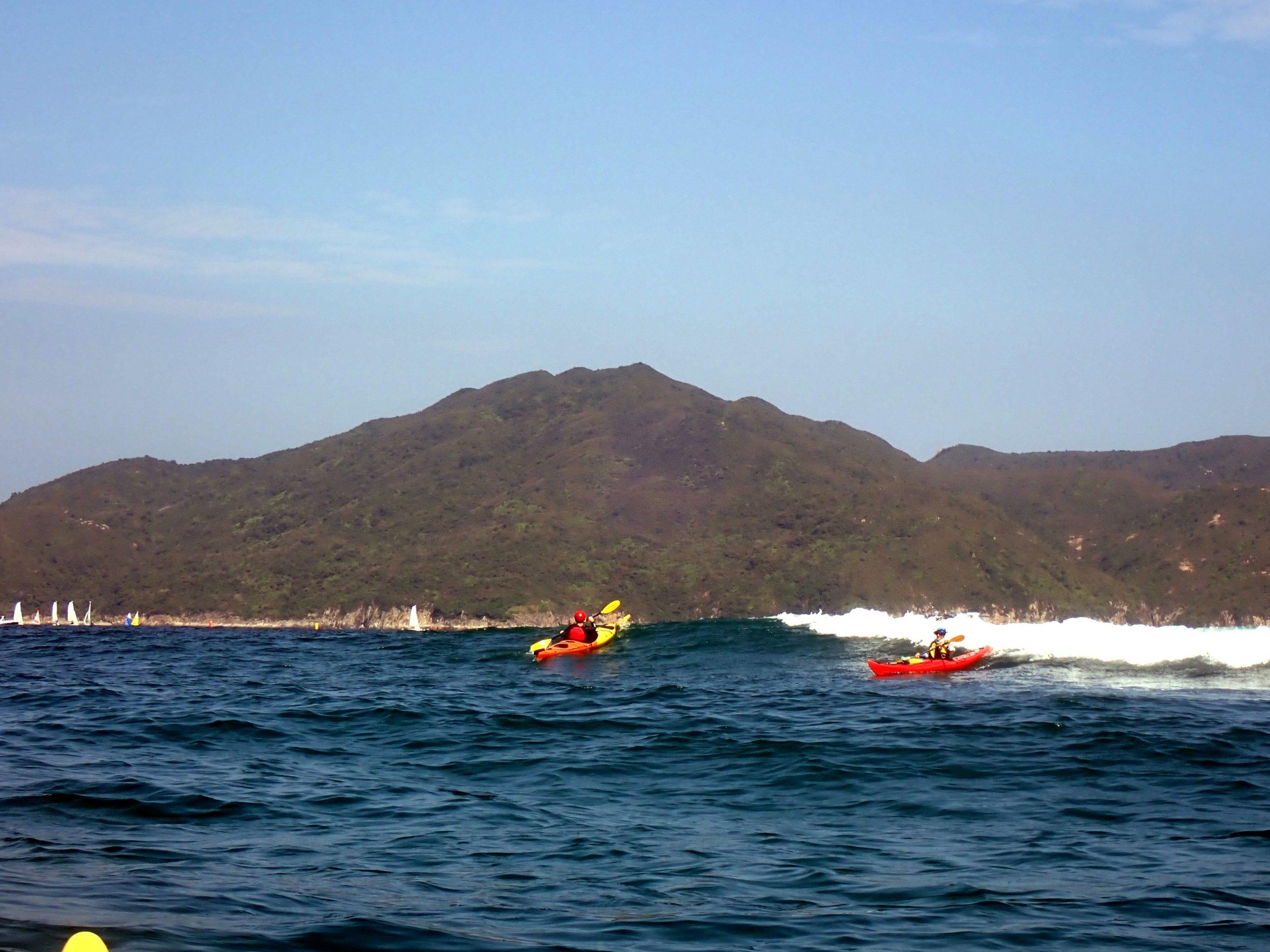 intrermediate kayak control course
