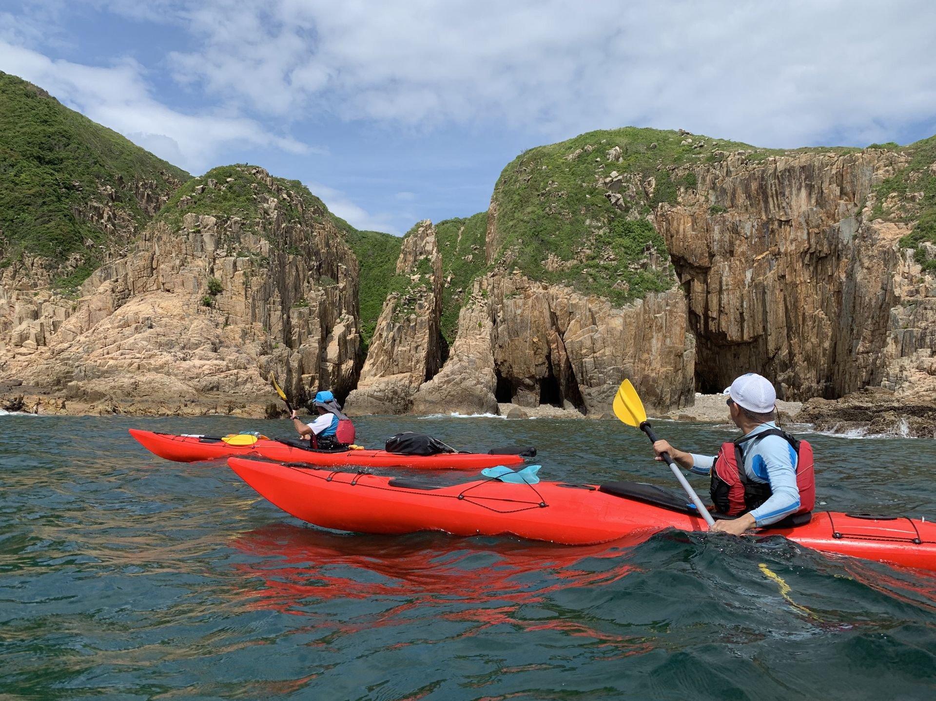 the UNESCO Global geopark coastline