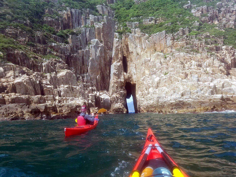 bLUFF iSLAND SEA CAVE