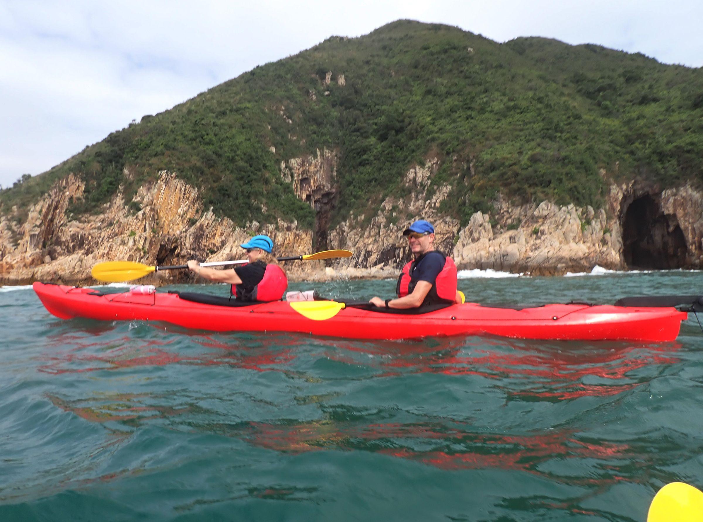double sea kayaks in Hong Kong