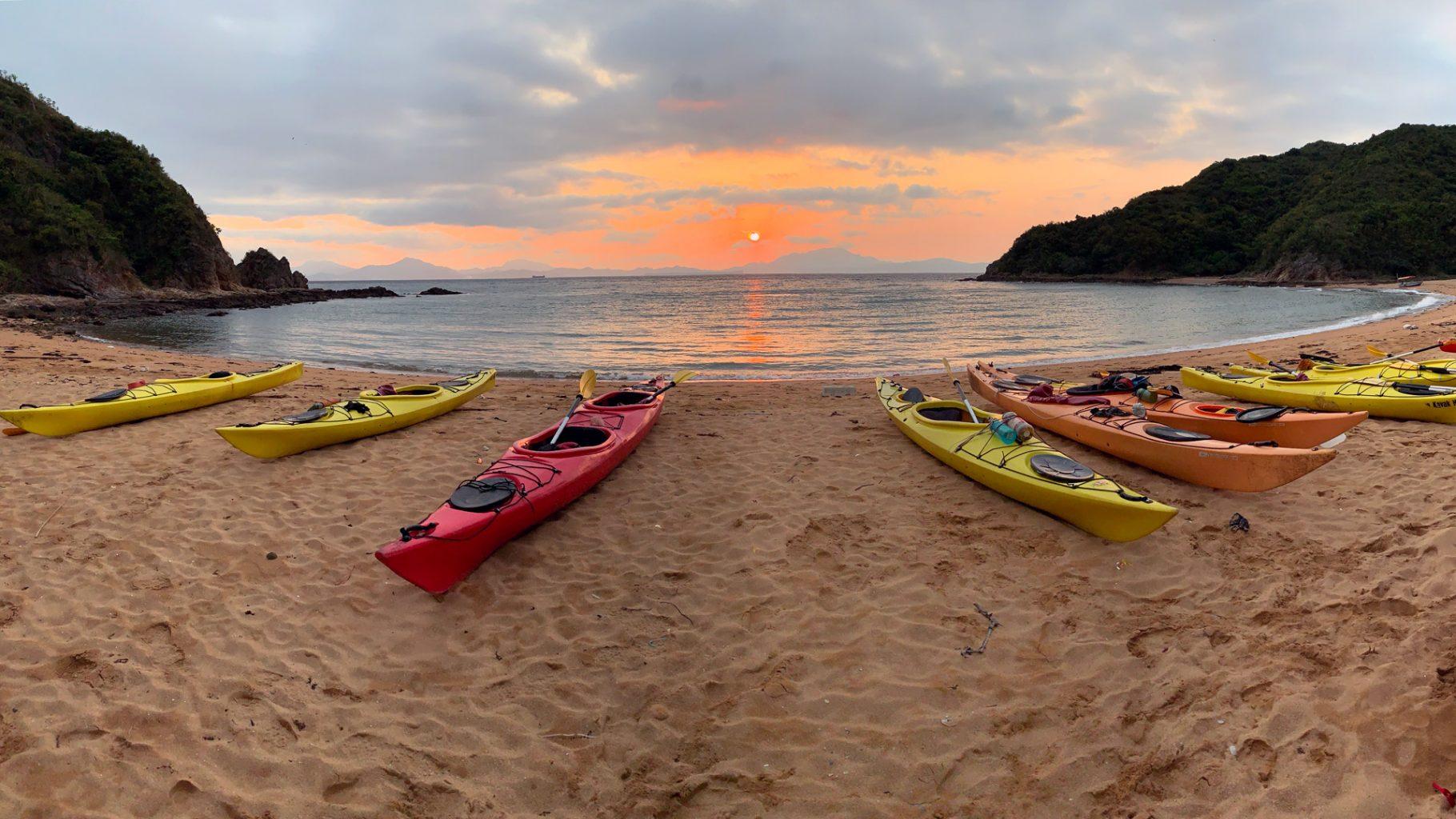 Hong kong Double haven Sea Kayak Tour