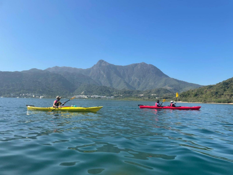 3 fathoms cove 1/2 day sea kayak tour