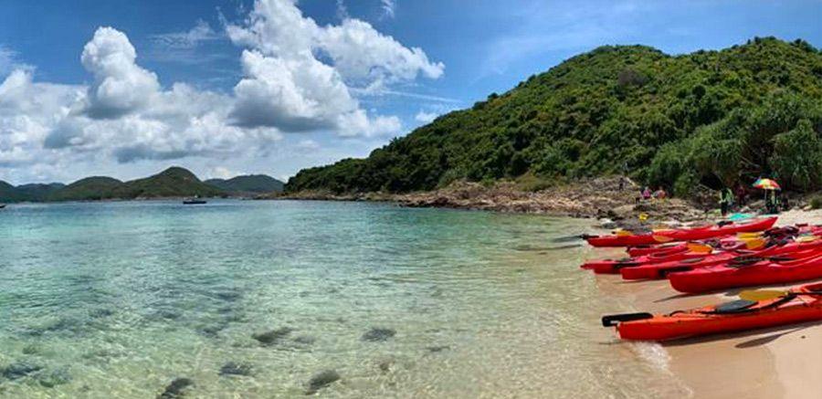 billionaires beach Hong Kong