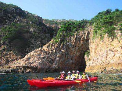 Jin island sea kayak photos