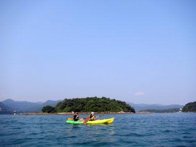 sharp island kayak tour