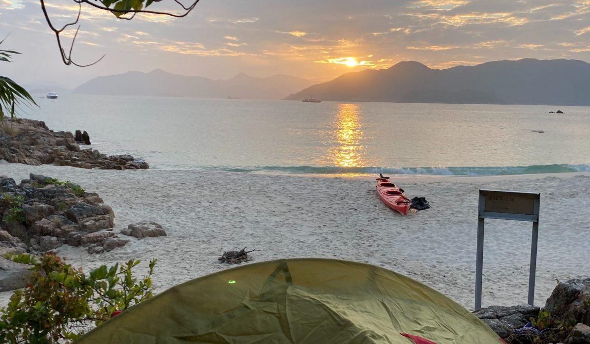 sea kayak camping